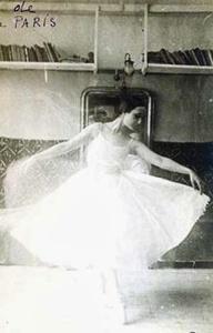 Lizica Codreanu - fotografiata  de Brancusi 1921